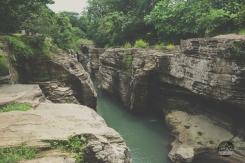 Cajones de Chame, Panama, Central America, roadtrip, vanlife, campertruck, offroad, river, rock, labyrinth