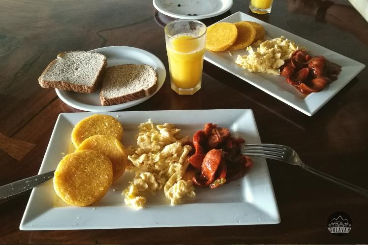Ohlavan, Panama, Cambutal, desayuno, típico, criollo, food