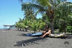 Playa Hermosa, Puntarenas, surf, surfing, barrel, wave, sunrise, nature, adventure, wild, Ohlavan, Costa Rica, pareja, couple