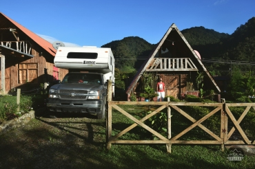 Bajos del Toro, Costa Rica, Overlander, campertruck, roadtrip, Ohlavan, campsite