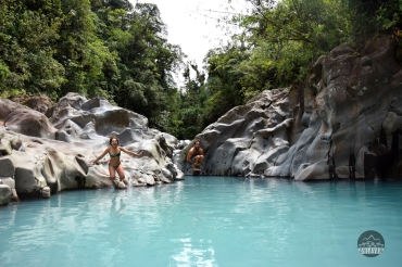 waterfall, river, water, cascada, Poza Celeste, nature, explore, adventure, Bajos del Toro, Costa Rica