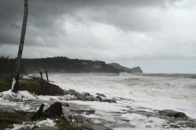 Ohlavan, roadtrip, truck camper, Central America, Nicaragua, Popoyo, Nate, tropical storm