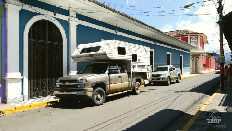 Granada, Nicaragua, roadtrip, Central America, Ohlavan, truck camper