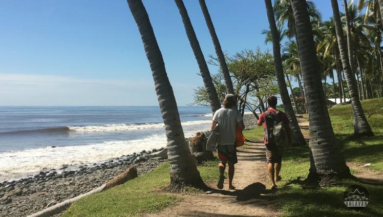 El Salvador, Punta Roca, surf, surfing, Ohlavan, truck camper, Central America, roadtrip