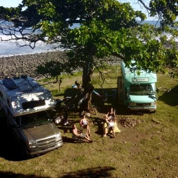 El Salvador, Punta Mango, PanamericanBus, surf, surfing, Ohlavan, truck camper, Central America, roadtrip, Overlander