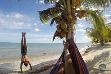 Ohlavan, Belize, Belice, Placencia, Mariposa, Central America, Centroamérica, roadtrip, truck camper, adventure, hammock, hamaca, GoPro