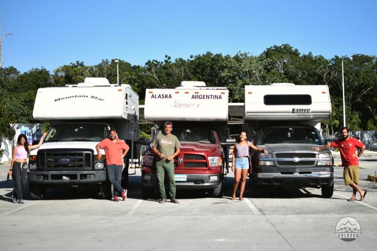 Ohlavan, truck camper, Central America, Centroamérica, trip, viaje, roadtrip, Tulúm, Chedraui, México, Yucatán, iOverlander, beach, playa