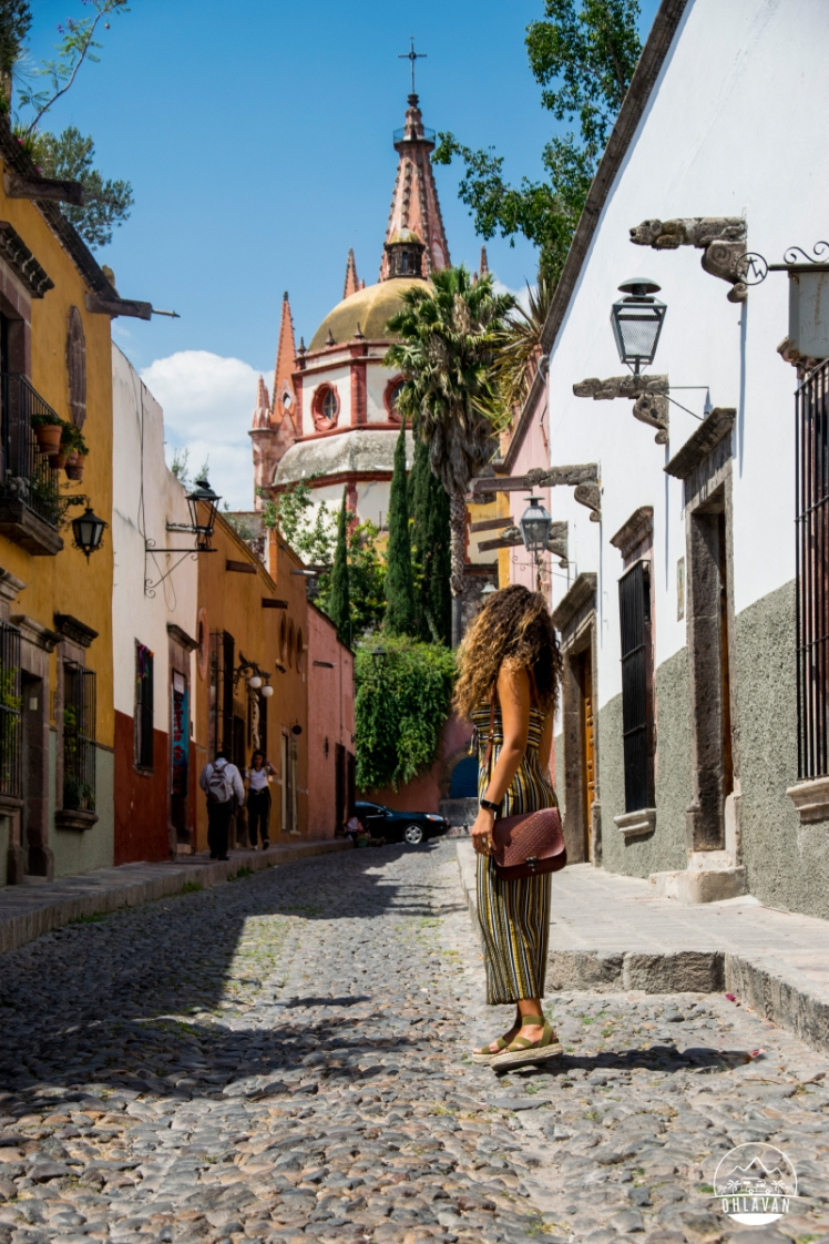 San Miguel de Allende, Guanajuato, México, Ohlavan, roadtrip, adventure, street, citylife