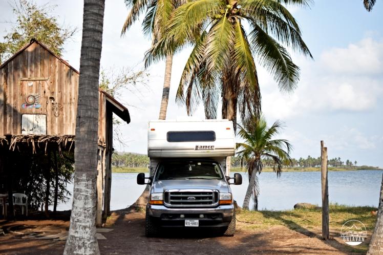 Barra de Nexpa, surfing, Michoacán, México, roadtrip, adventure, Ohlavan, overlanding, truckcamper