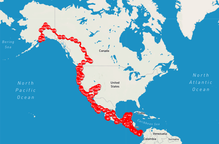 Ohlavan route Panama to Alaska, roadtrip, adventure, overlander