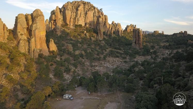 Ohlavan, truckcamper, overland, Central America, Panamericana, México, Zacatecas, Sierra de Órganos, roadtrip, adventure, Basque, Haitian