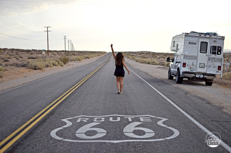 Ohlavan, truckcamper, roadtrip, Panamerican Highway, Panama to Alaska, Basque, Haitian, overland, adventure, USA, California, Route 66, Barstow