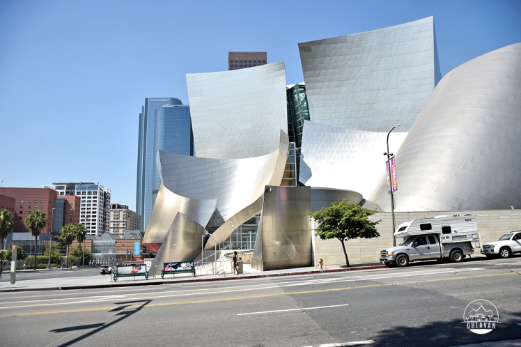 Ohlavan, truckcamper, roadtrip, Panamerican Highway, Panama to Alaska, Basque, Haitian, overland, adventure, USA, California, Los Angeles, Walt Disney Concert Hall, Frank Gehry, Bilbao, Guggenheim, architecture