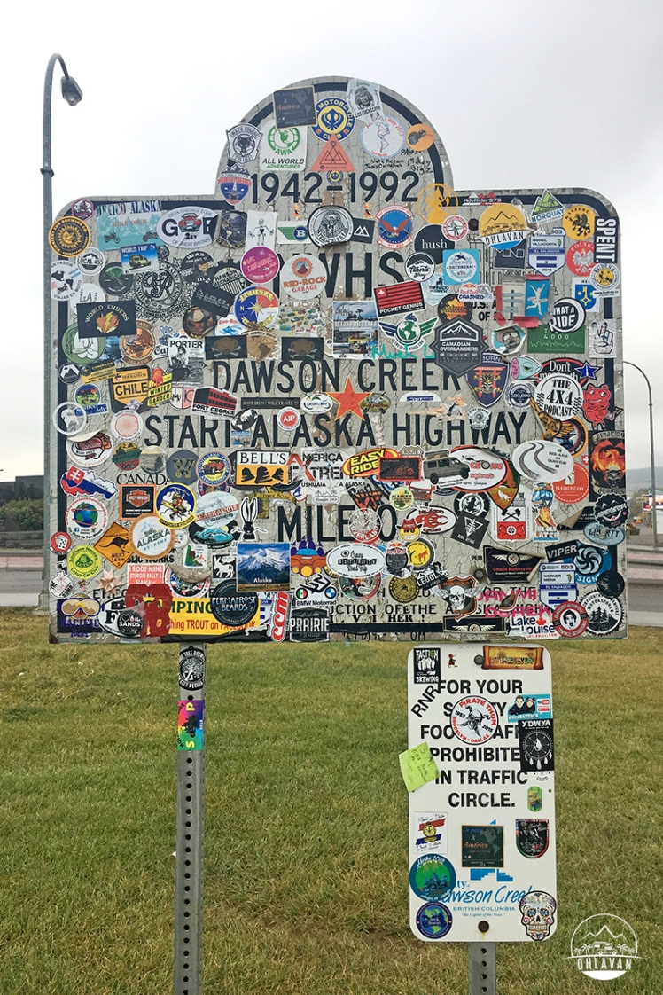 Ohlavan, truckcamper, roadtrip, Panamerican Highway, Panama to Alaska, Basque, Haitian, overland, adventure, Canada, British Columbia, Alaska Highway, Dawson Creek