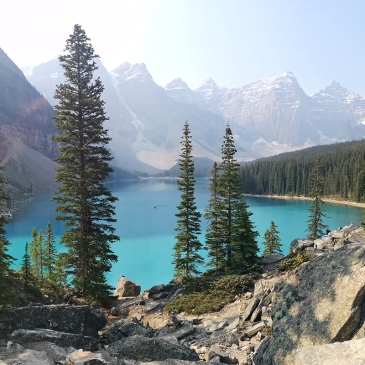 Ohlavan, truckcamper, roadtrip, Panamerican Highway, Panama to Alaska, Basque, Haitian, overland, adventure, Canada, Alberta, The Rockies, Moraine Lake