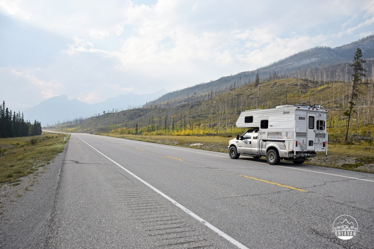 Ohlavan, truckcamper, roadtrip, Panamerican Highway, Panama to Alaska, Basque, Haitian, overland, adventure, Canada, Alberta, The Rockies, Icefields Parkway