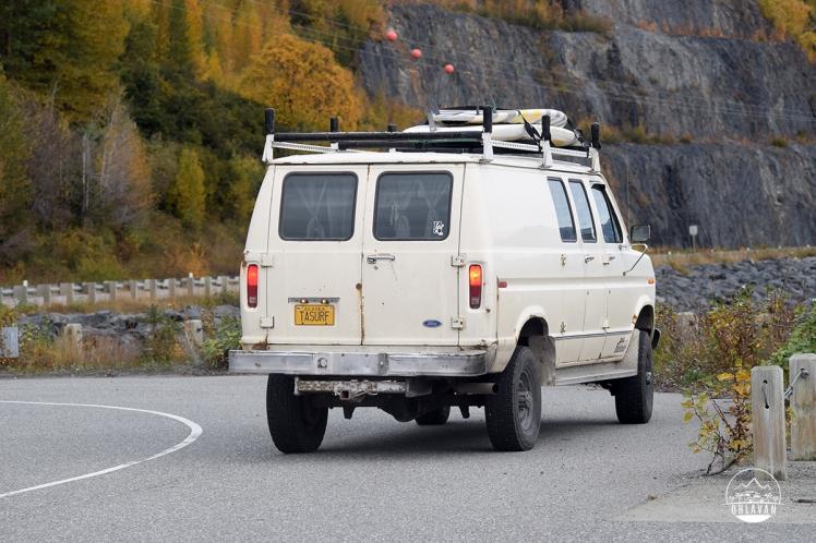 Ohlavan, truckcamper, roadtrip, Panamerican Highway, Panama to Alaska, Basque, Haitian, overland, adventure, Alaska Highway, Alaska, 49th state, Turnagain Arm, surf, surfing, TAsurf